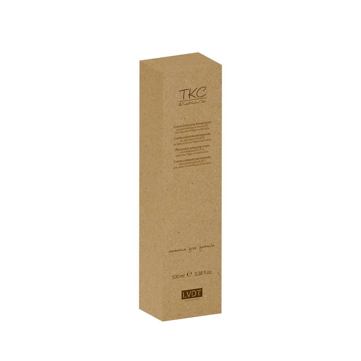 Tkc Cream 5.4 Color  100ml 5.4 Castano Chiaro Rame