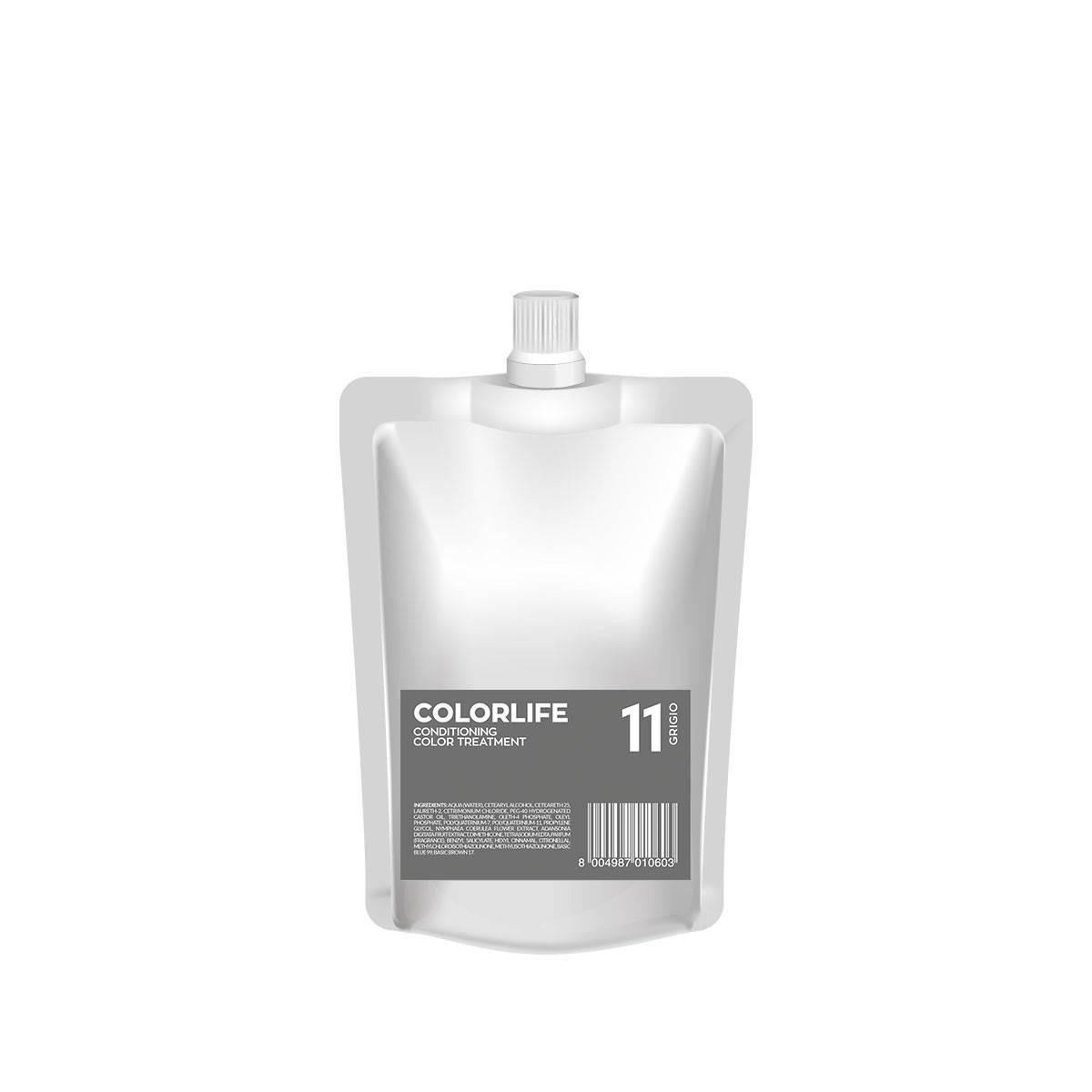 11 Colorlife 200ml Grigio Color Treatment