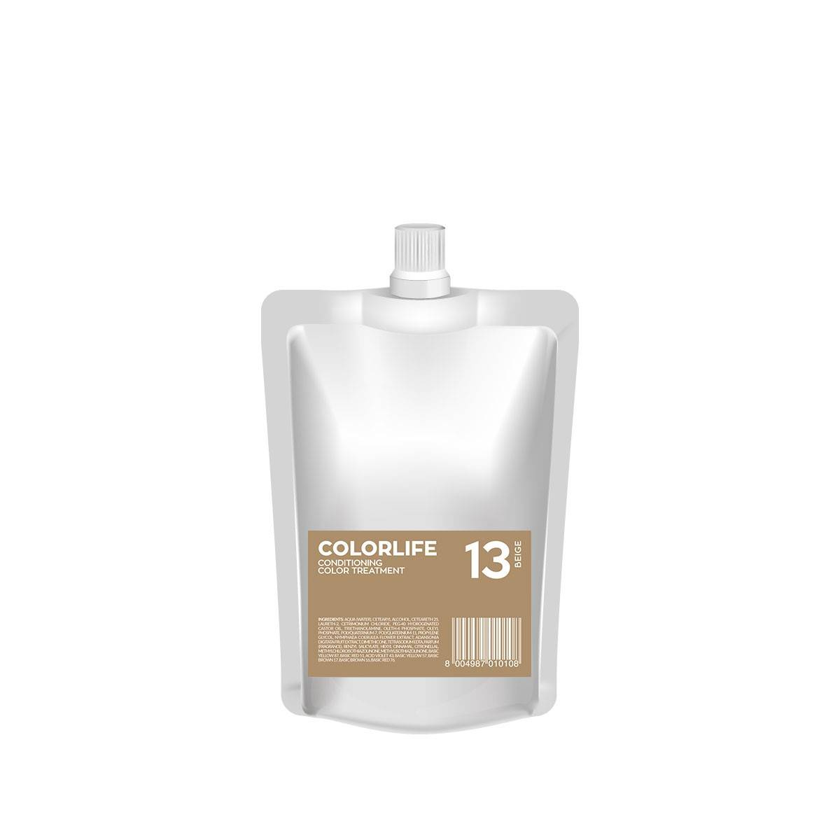 13 Colorlife 200ml Beige Color Treatment