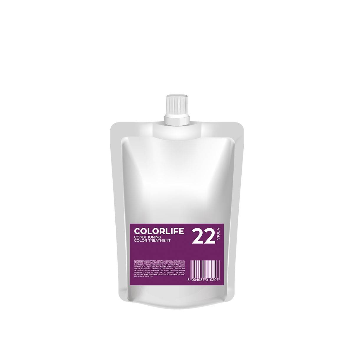 22 Colorlife 200ml Viola Color Treatment
