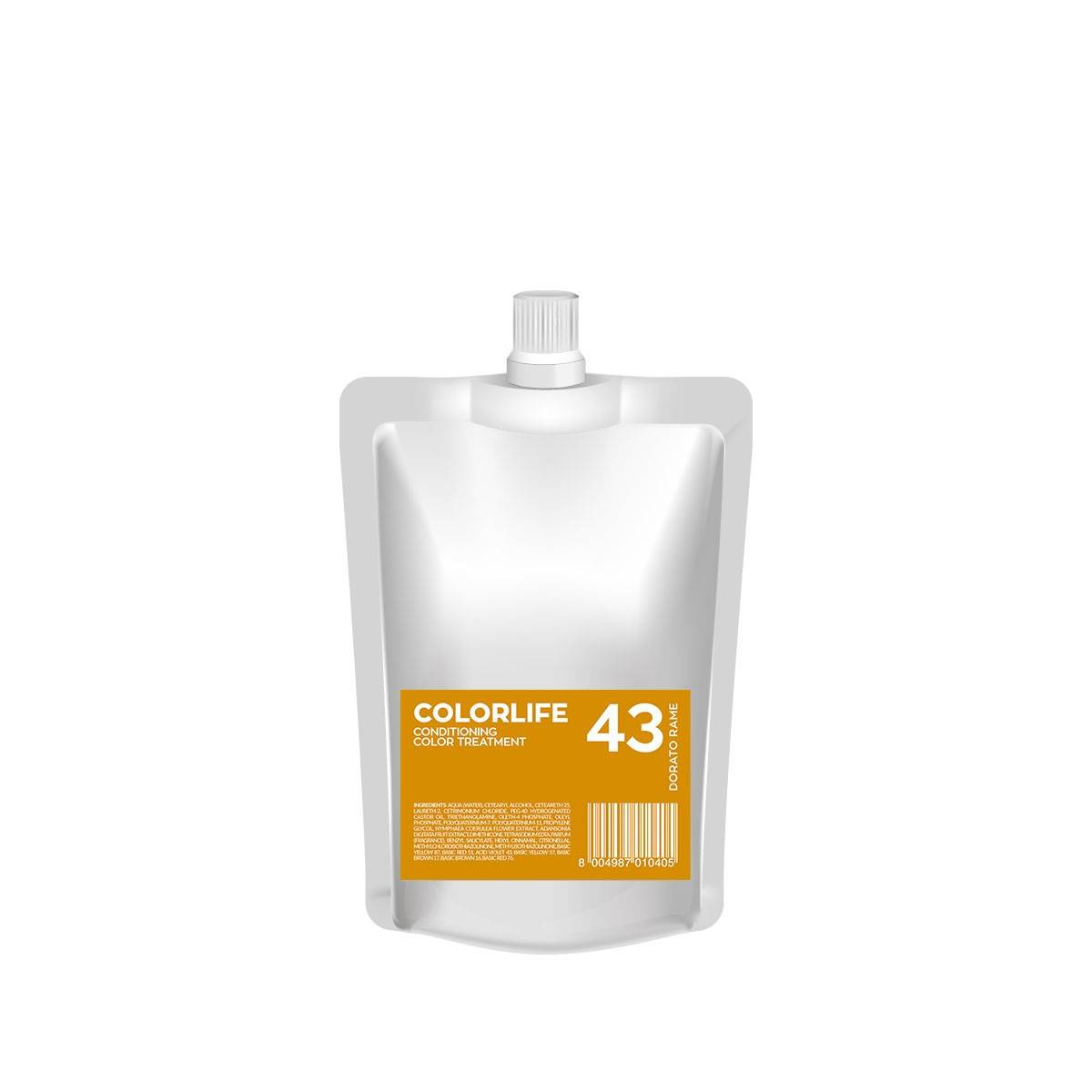 43 Colorlife 200ml Dorato Rame Color Treatment