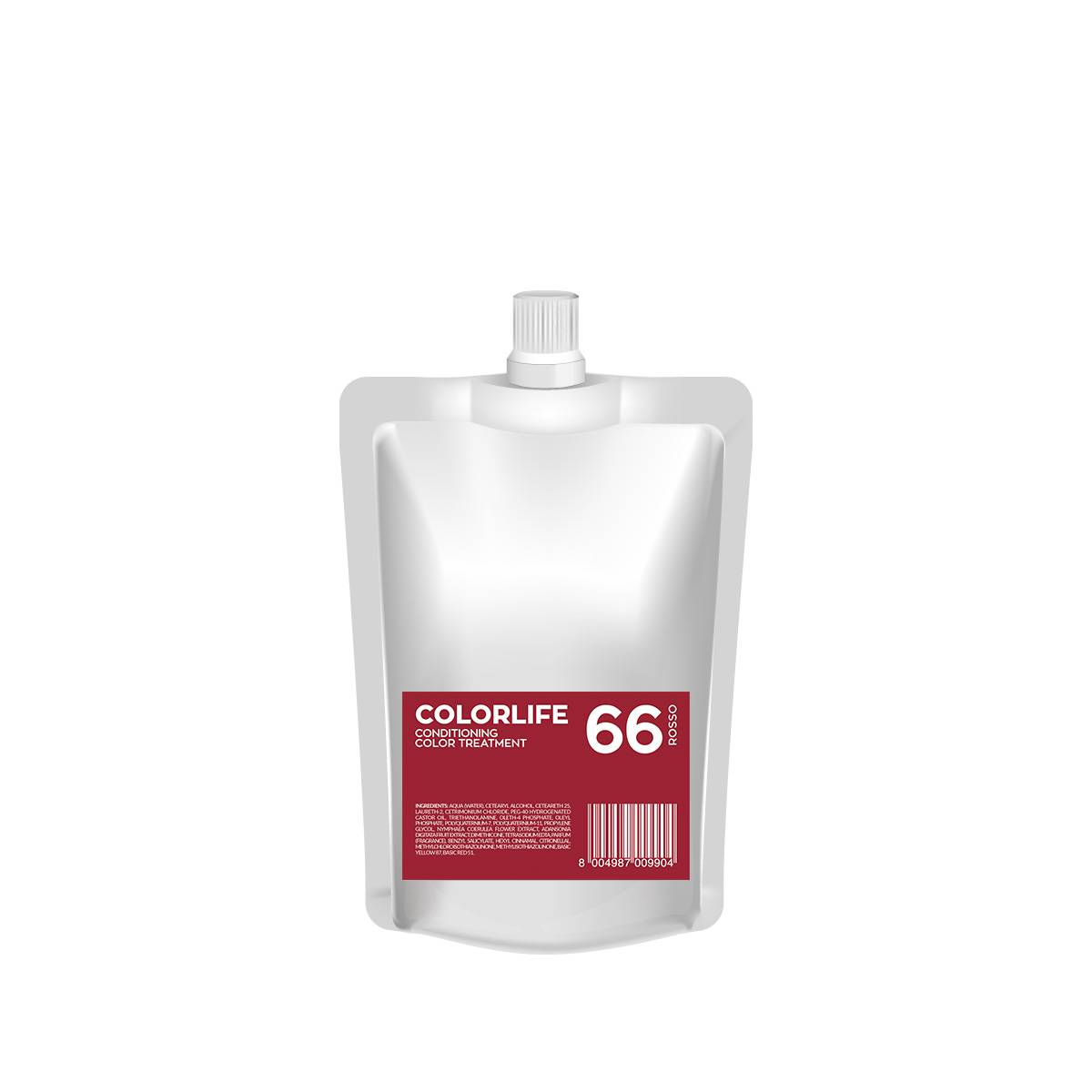 66 Colorlife 200ml Rosso Color Treatment