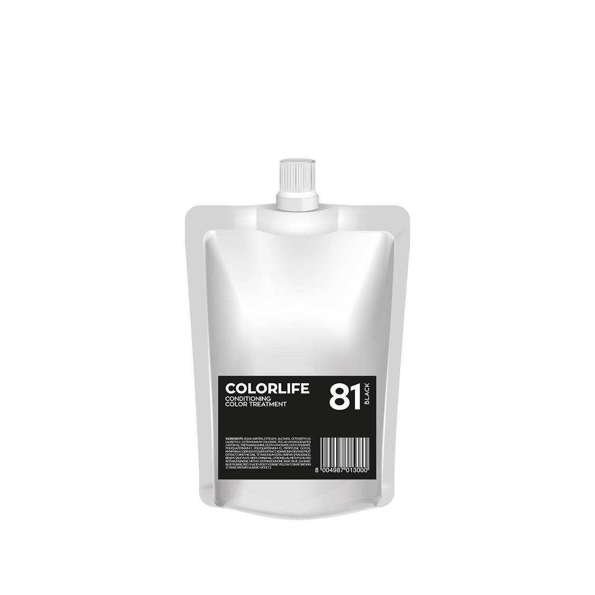81  Colorlife 200ml Black  Color Treatment