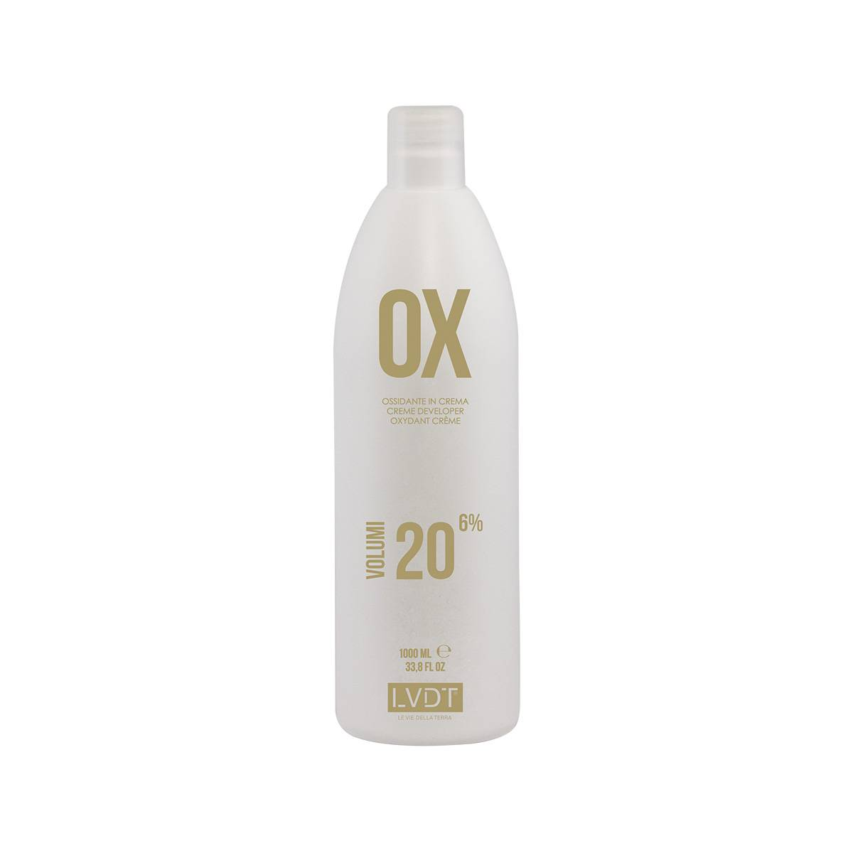 Lvdt Ossidante In Crema 20 Vol 1000 Ml