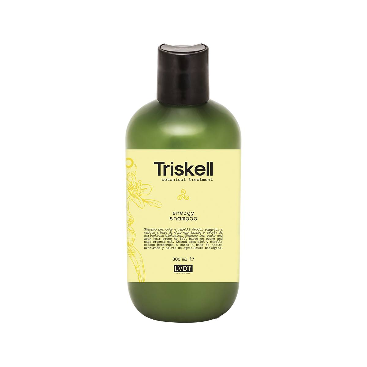 Energy Shampoo 300 Ml New Triskell Nuova Botanical Treatment