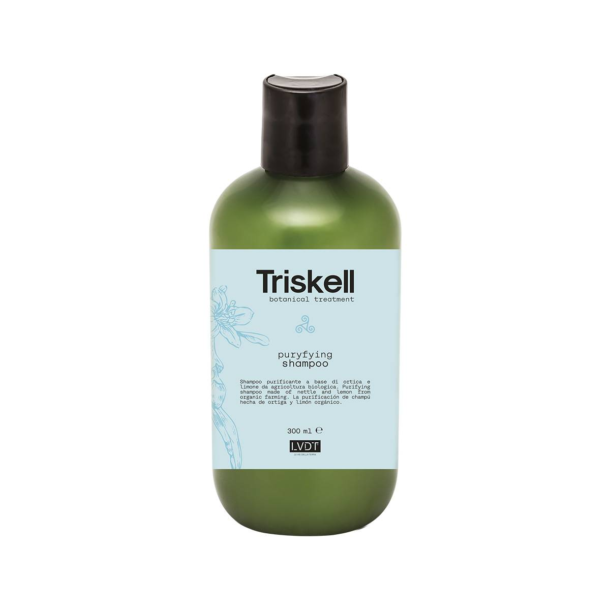 Purifyng shampoo 300 ml new triskell nuova botanical treatment PUREZZA/FORFORA