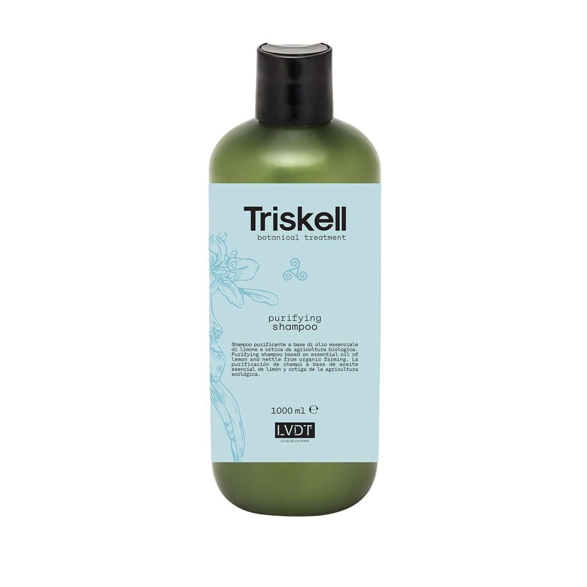 Purifyng shampoo 1000 ml new triskell nuova botanical treatment PUREZZA/FORFORA