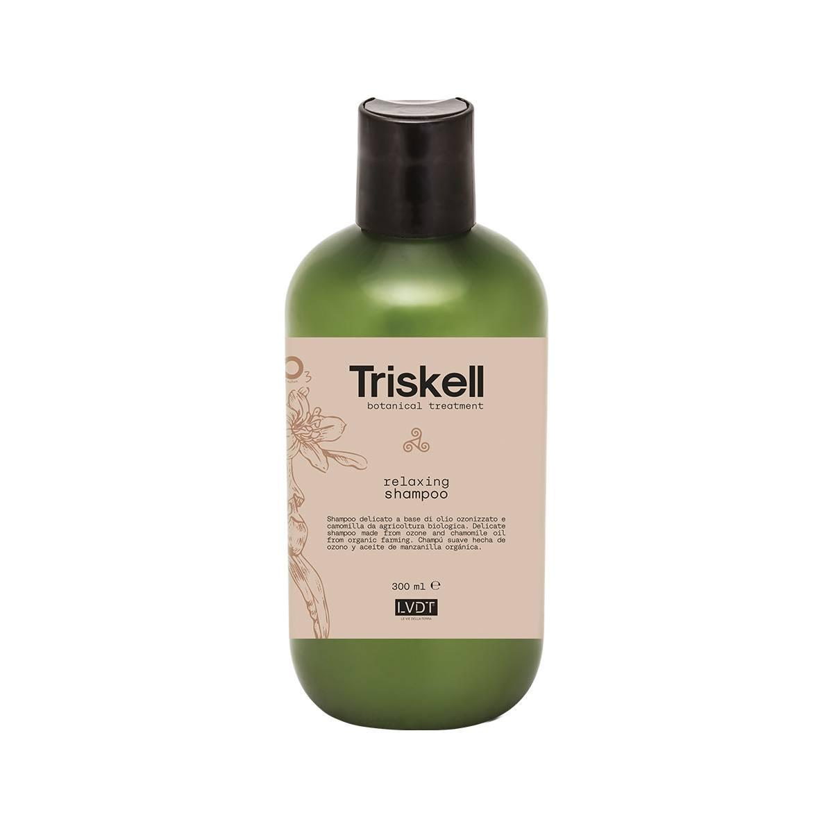 Relaxing shampoo 300 ml new triskell nuova botanical treatment CALMANTE/RILASSANTE