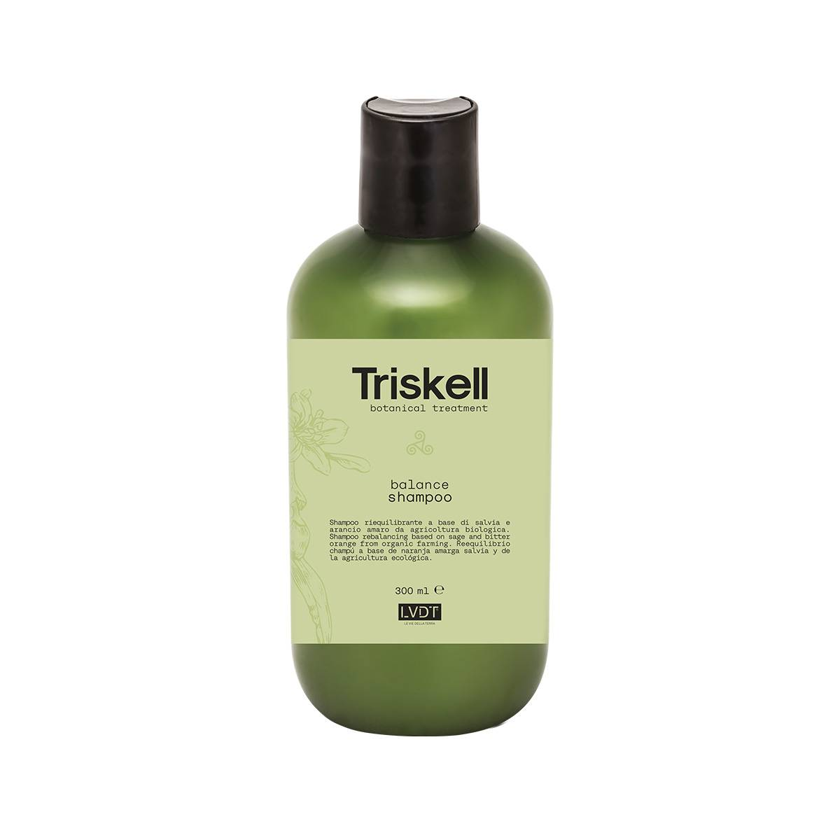 Balance Shampoo 300 Ml Triskell Nuova Botanical Treatment