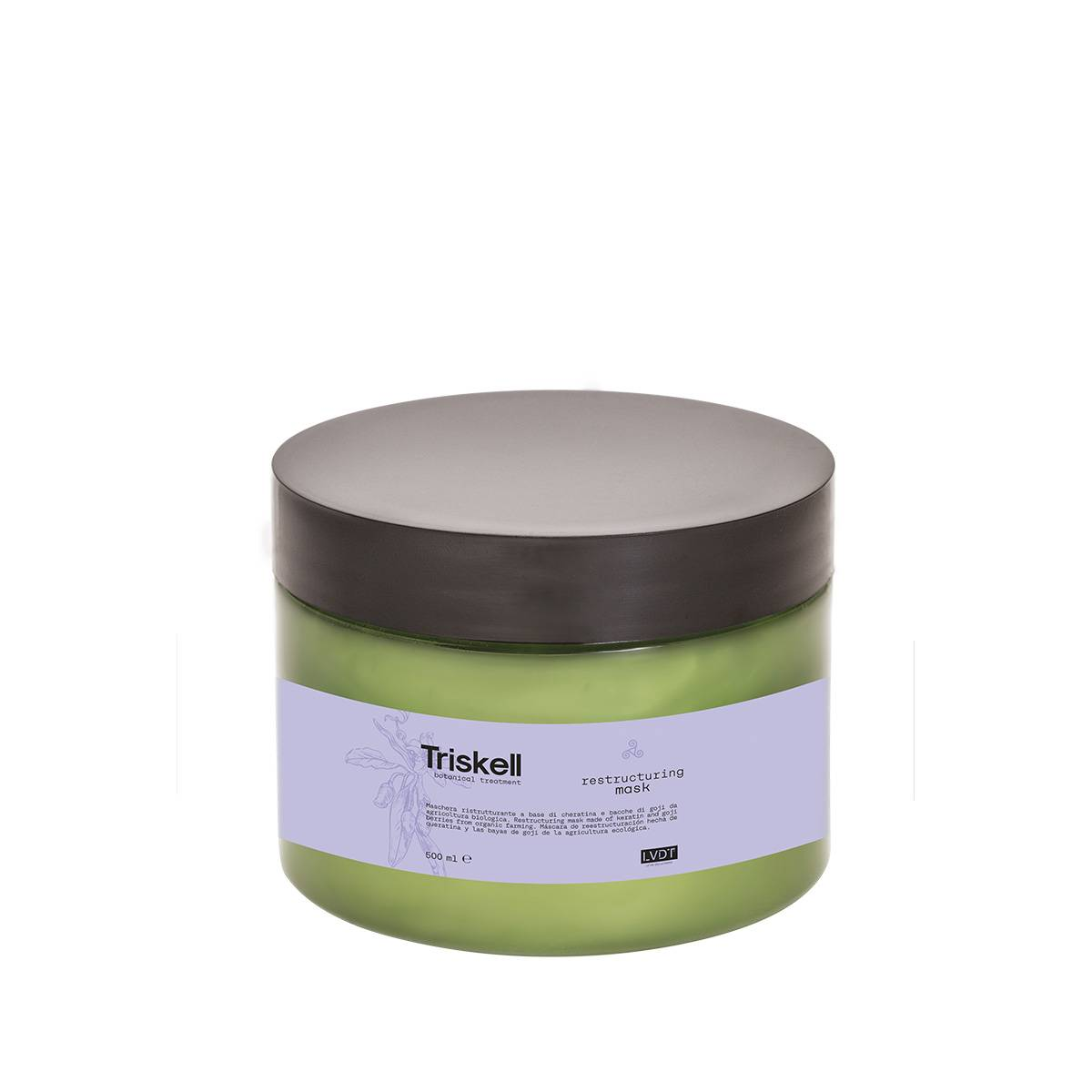 Restructuring Mask 250ml Triskell Nuova Botanical Treatment