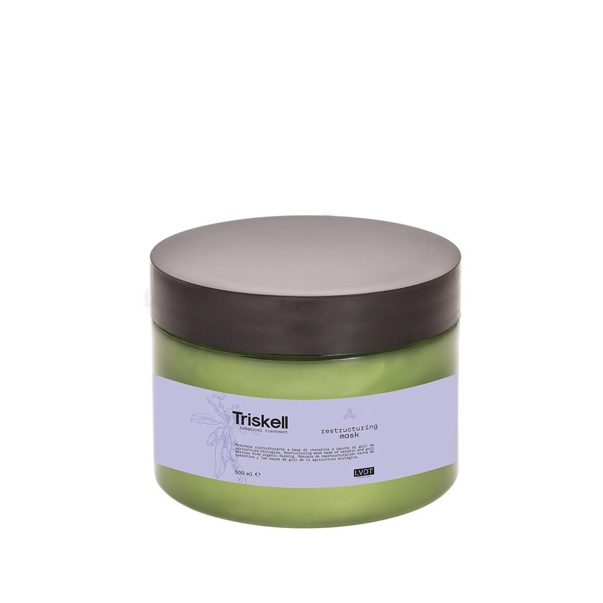 Restructuring Mask 500ml Triskell Nuova Botanical Treatment