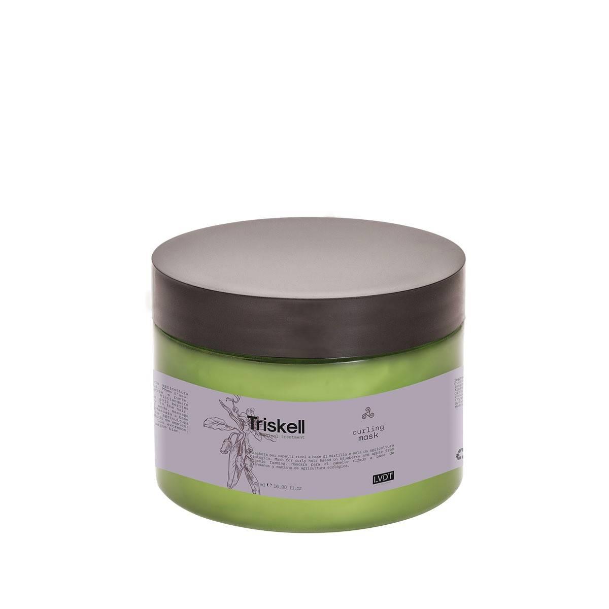 Curling Mask 500ml Triskell Botanical Treatment