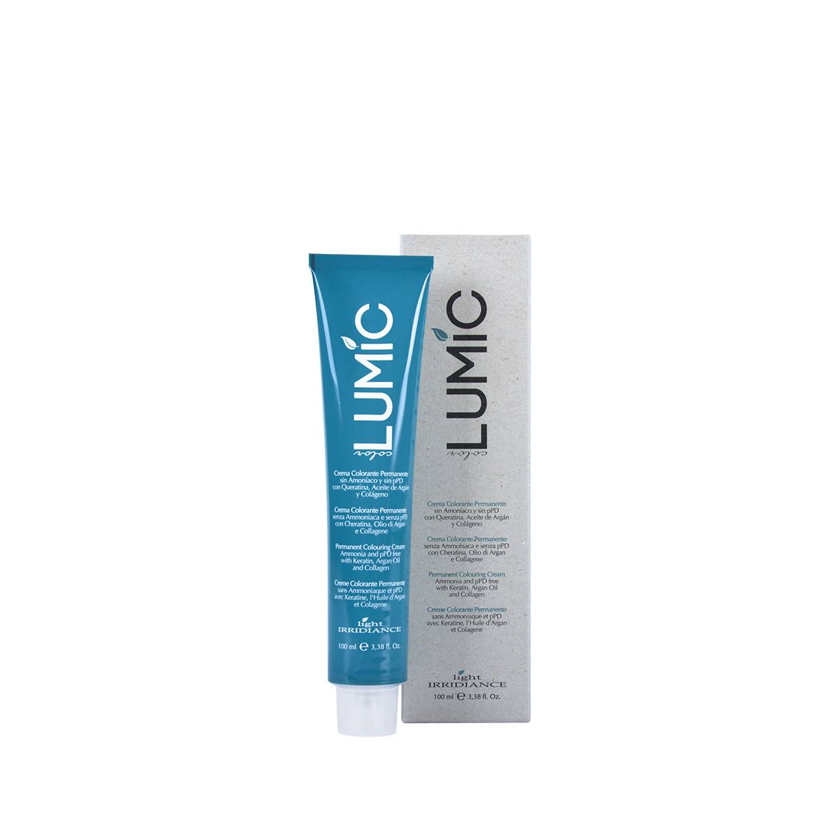 Lumic Crema Colore 100ml Biondo Scuro Rame