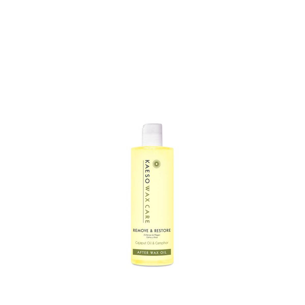 Remove & Restore-after Wax Oil 250ml*cat