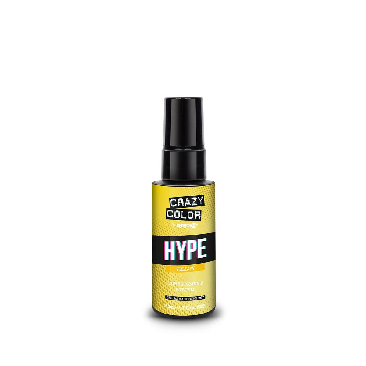 Hype Crazy Color Yellow 50ml**