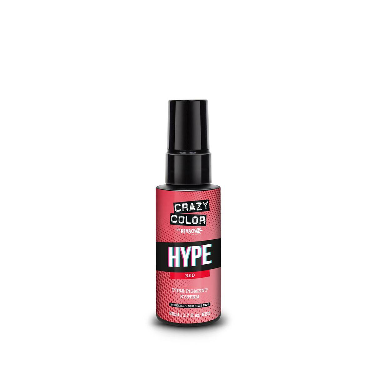 Hype Crazy Color Red 50ml**