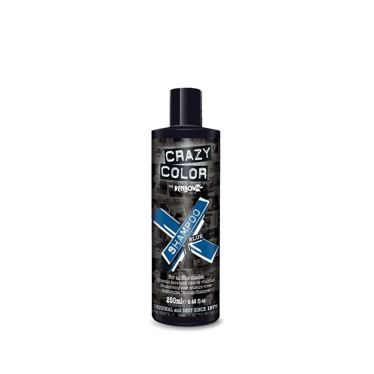 Crazy Color Shampoo 250 Ml Blue***cat