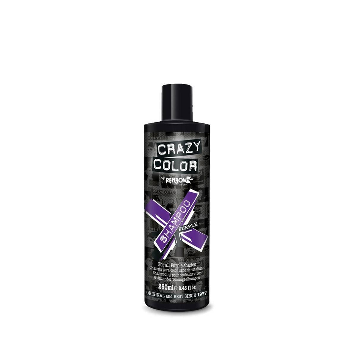 Crazy Color Shampoo 250ml Purp Le**