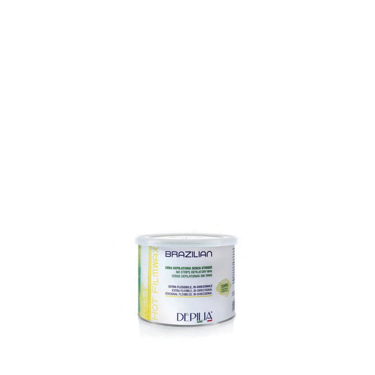 Brazilian Wax Cera 500ml  Barattolo Bianco Depilia