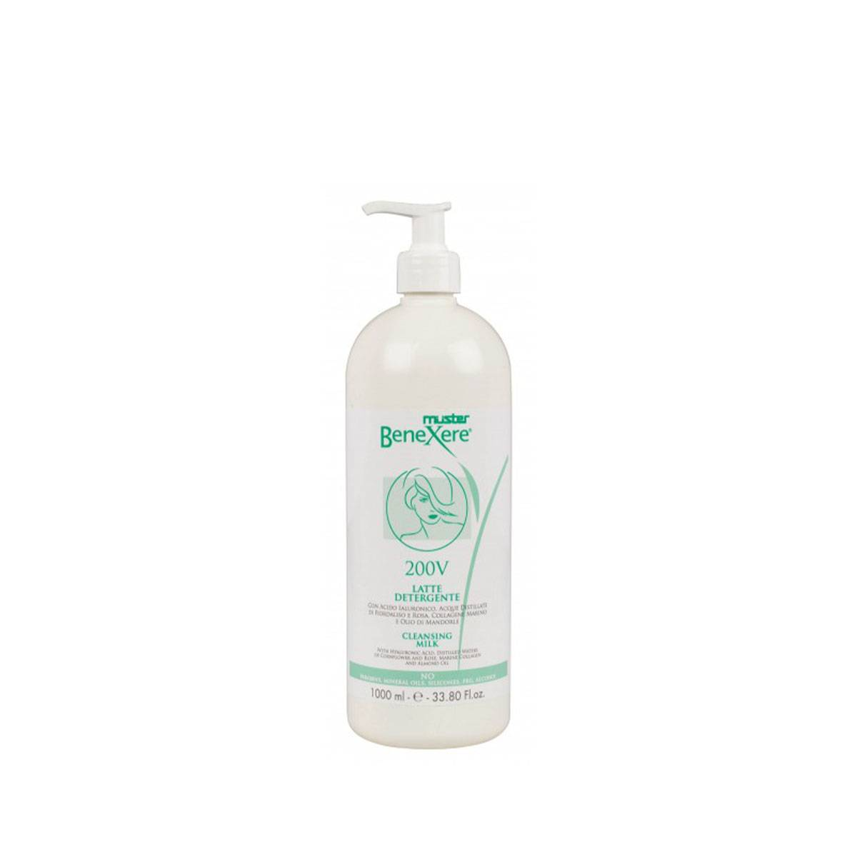 200v Latte Detergente 1000ml Cleansing Milk