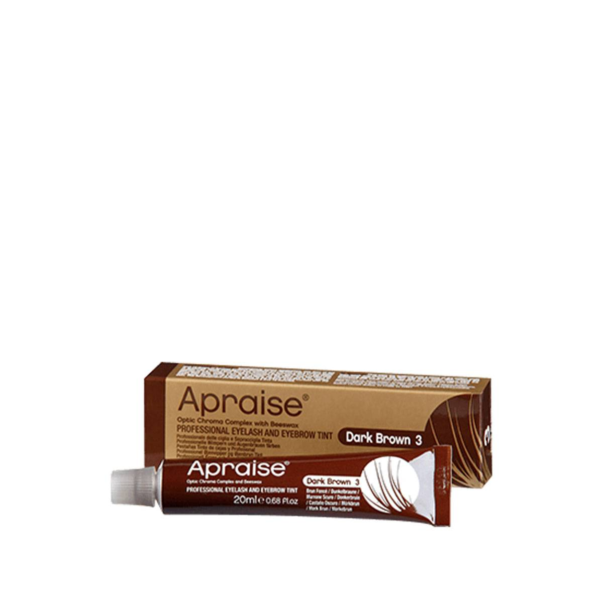 Apraise 3 Dark Brown 20 Ml Eyelash