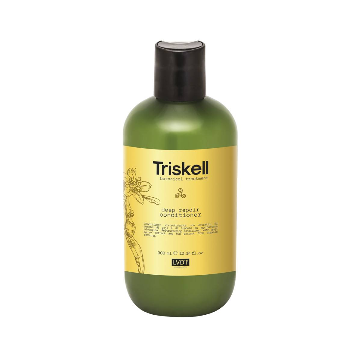 Deep Repair Conditioner 300 Ml Triskell Nuova Botanical Treatment