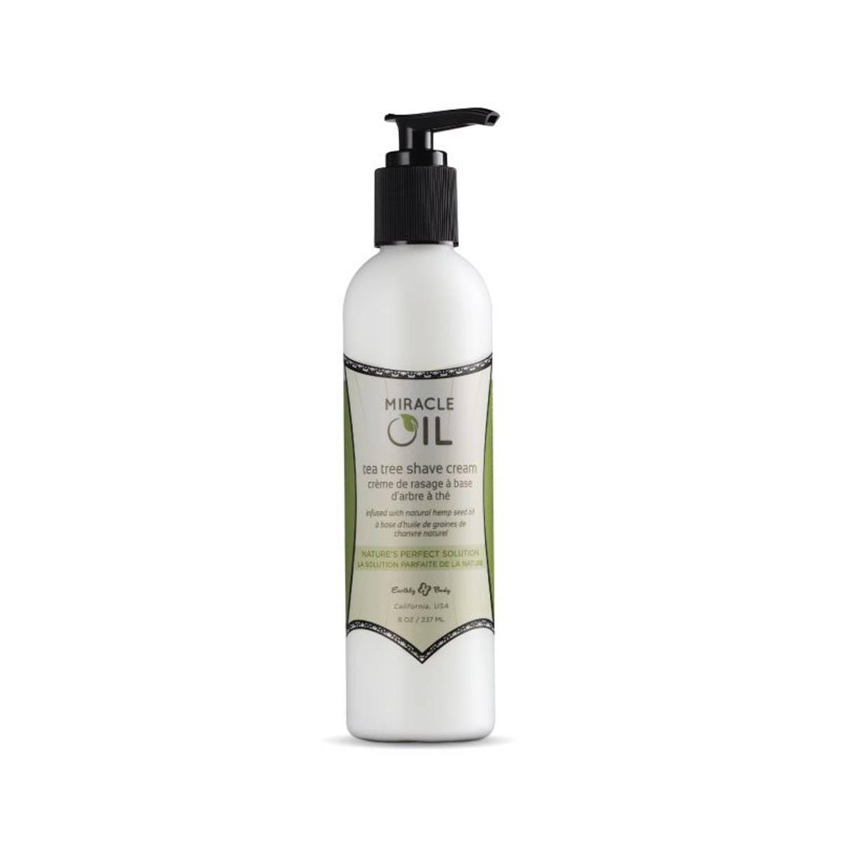 Tea Tree Shave Cream 237ml Miracle Oil Marrakesh