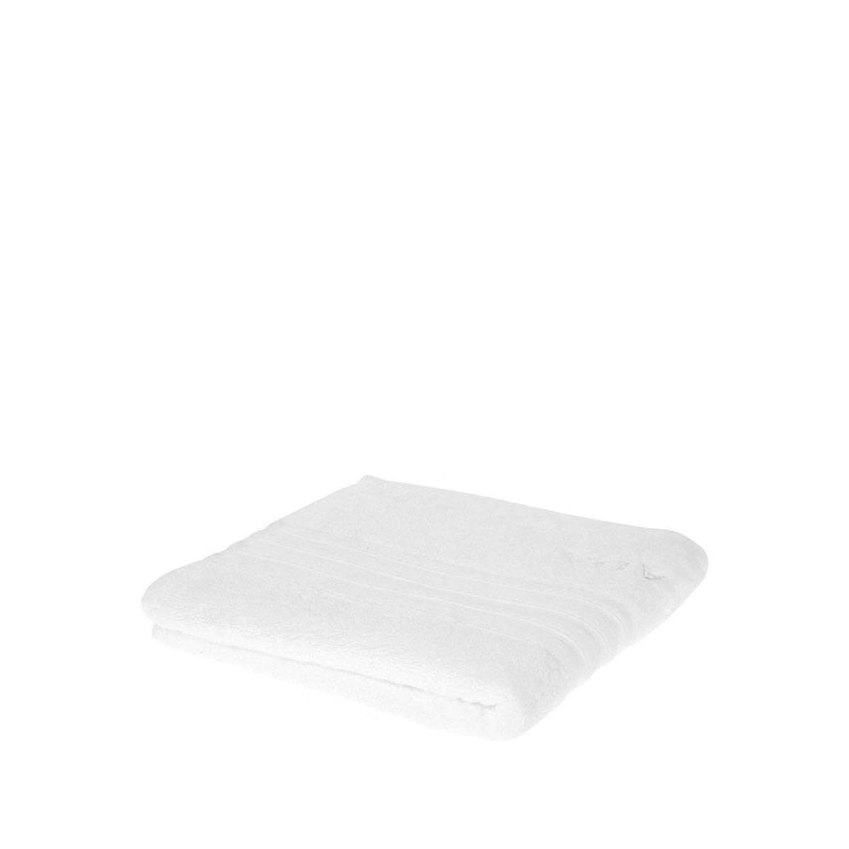 Asciugamano Spugna Cotone 12pz 50x90cm Bianco W014**