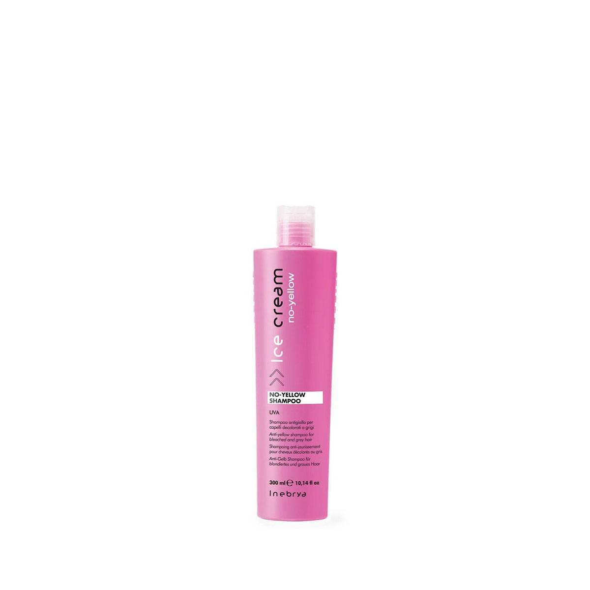 No yellow shampoo 300 ml uva capelli decolorati o grigi ANTIGIALLO