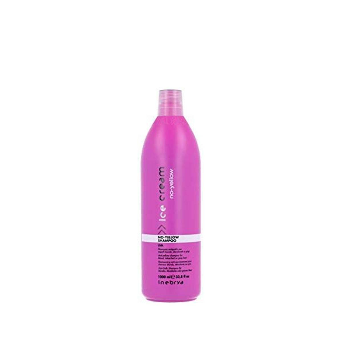 No yellow shampoo 1000 ml uva capelli decolorati o grigi ANTIGIALLO