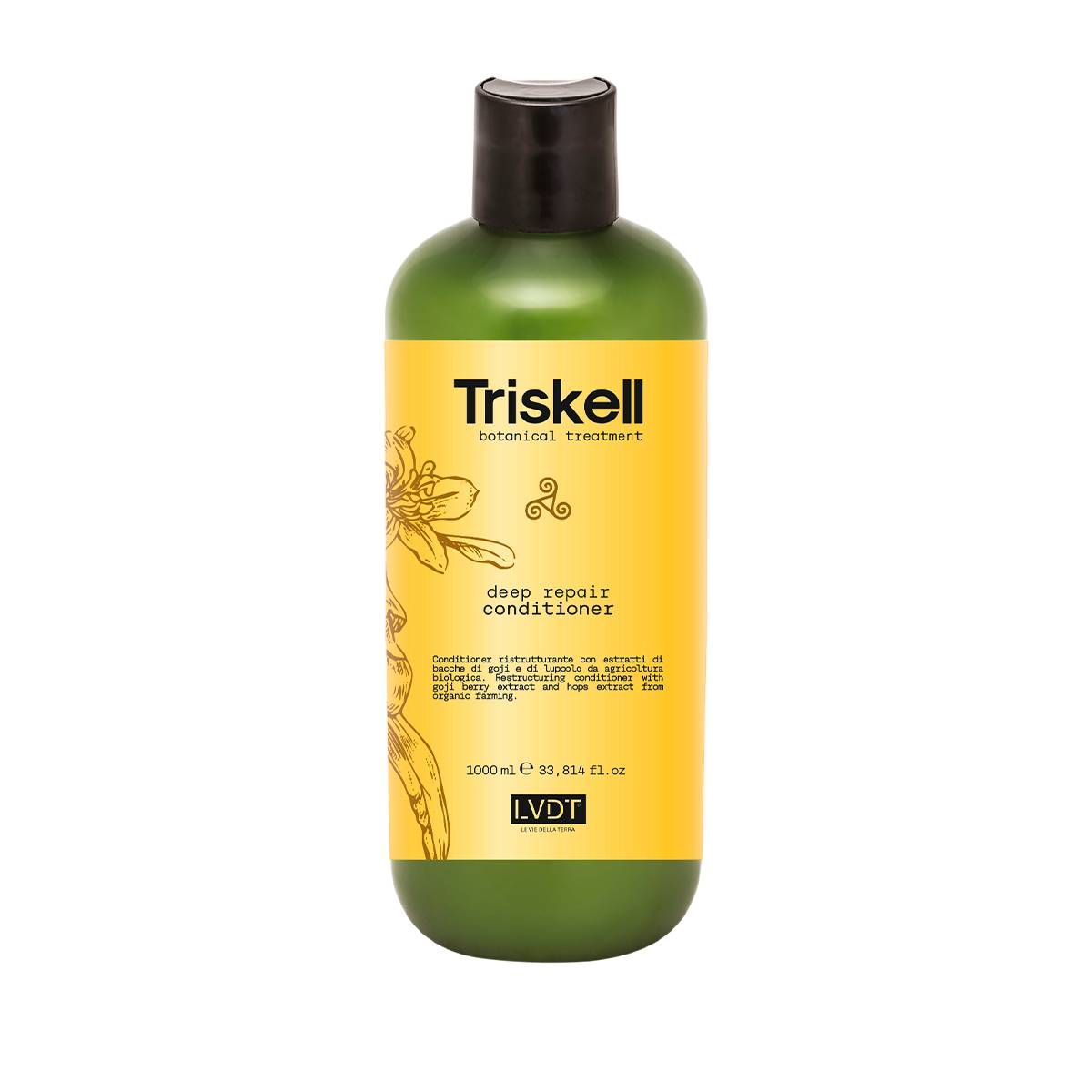 Deep Repair Conditioner 1000ml Triskell Nuova Botanical Treatment