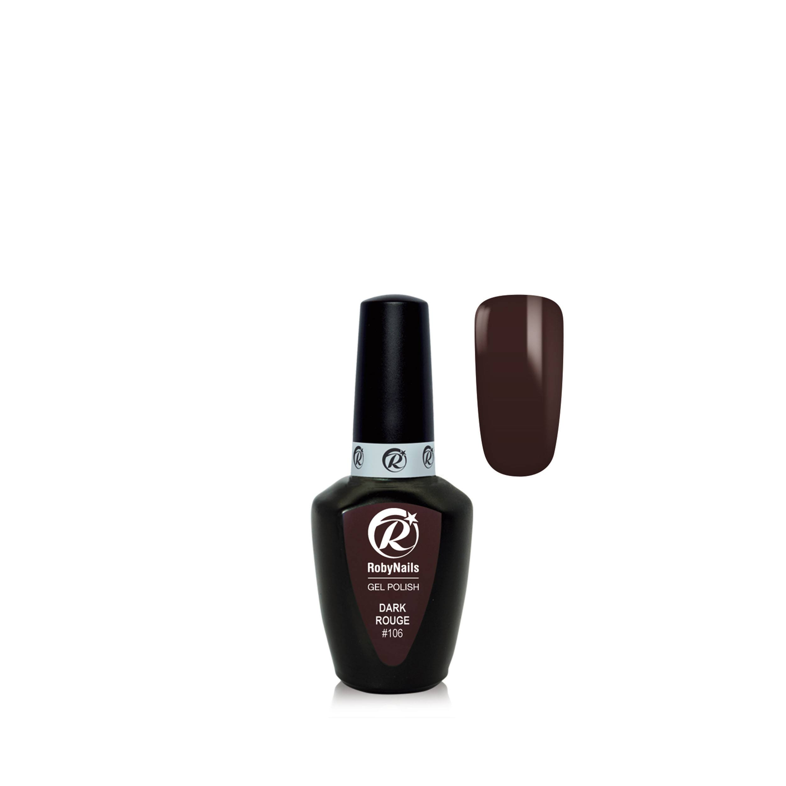 Gel Polish Dark Rouge 8 Ml 21106