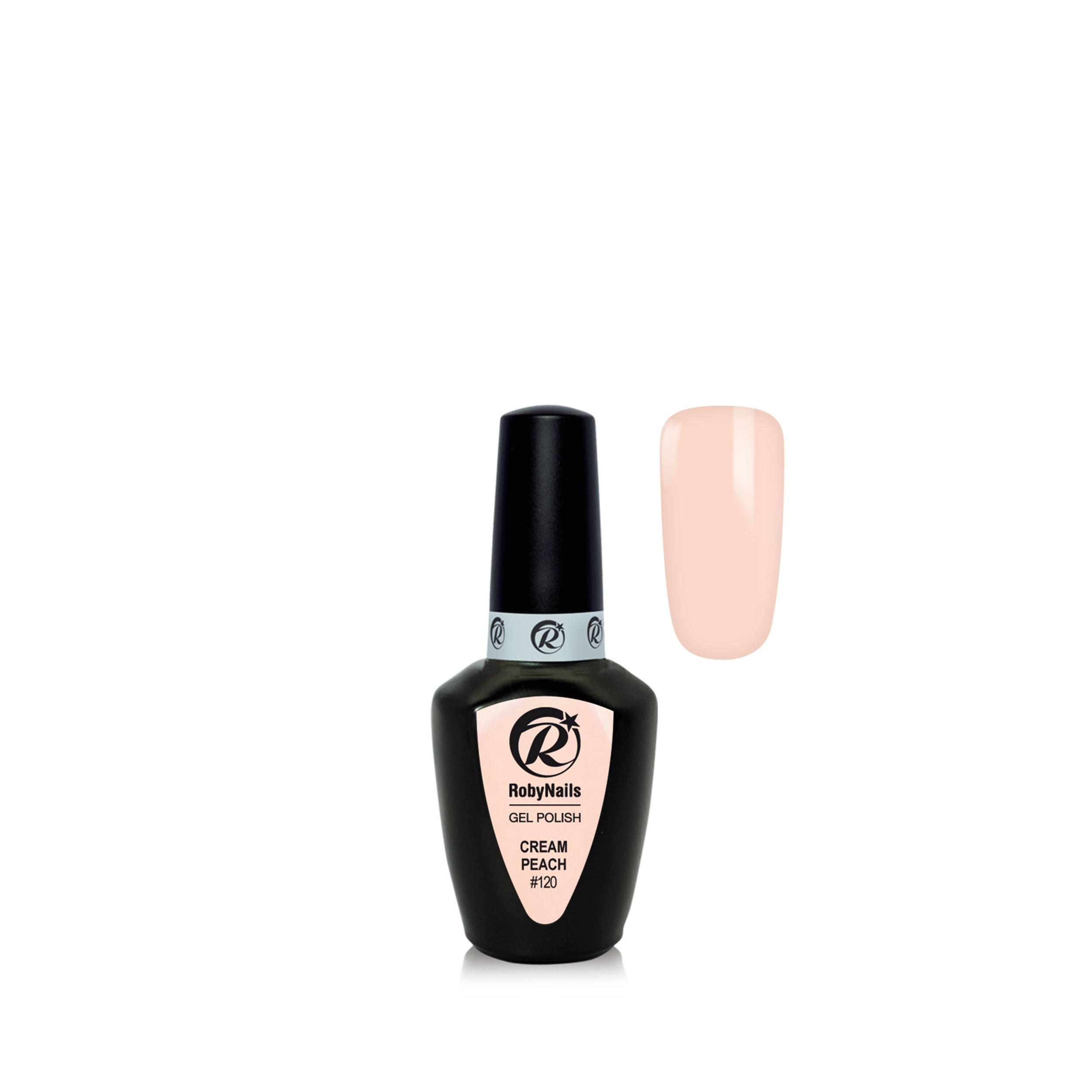 Gel Polish Cream Peach 8 Ml 21120