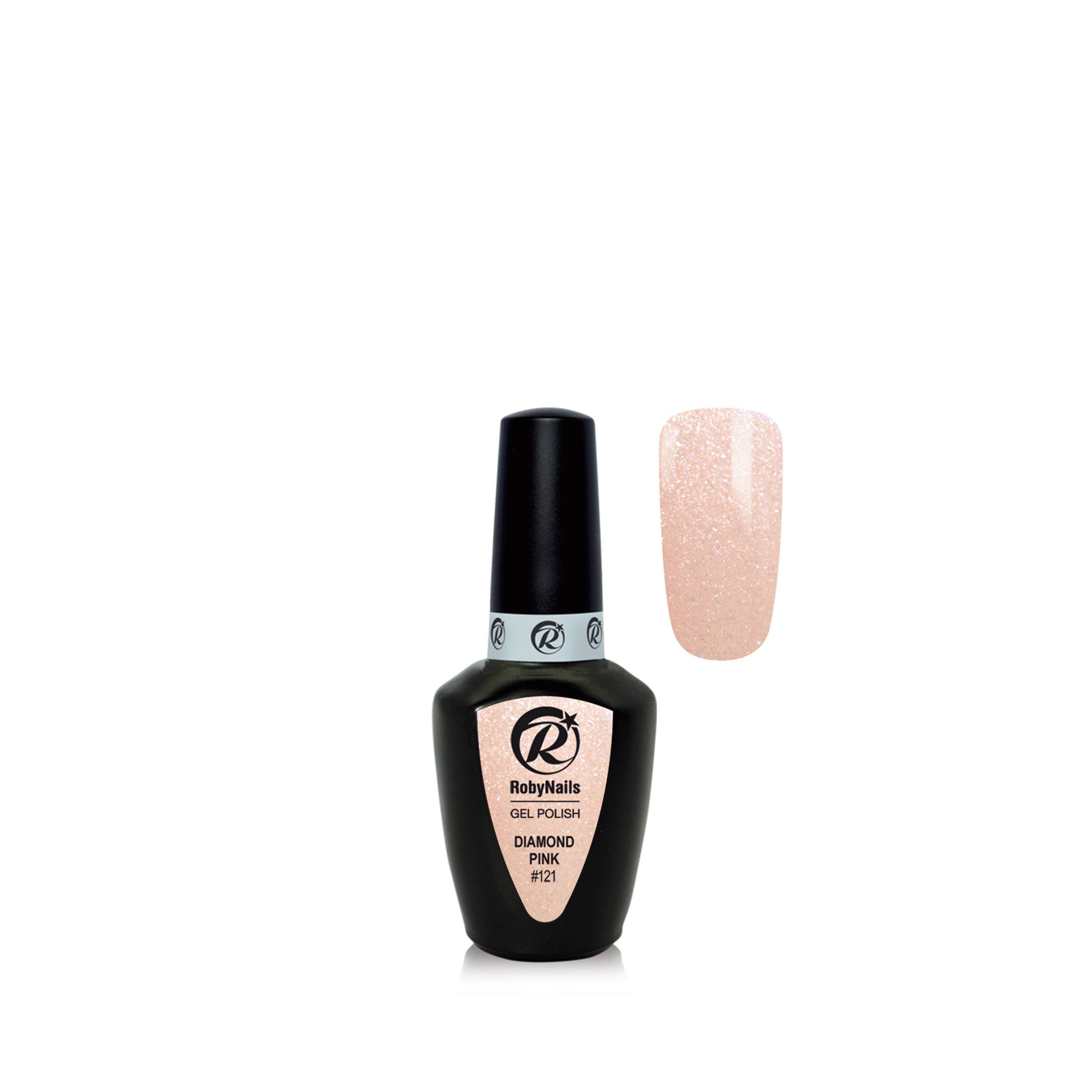 Gel Polish Diamond Pink 8 Ml 21121