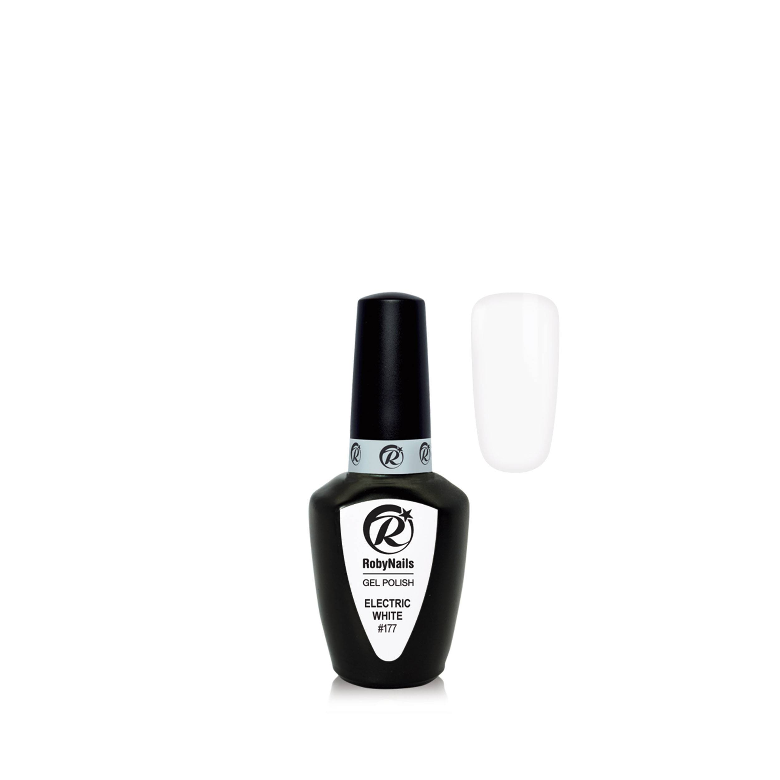 Gel Polish Electric White 21177    8 Ml