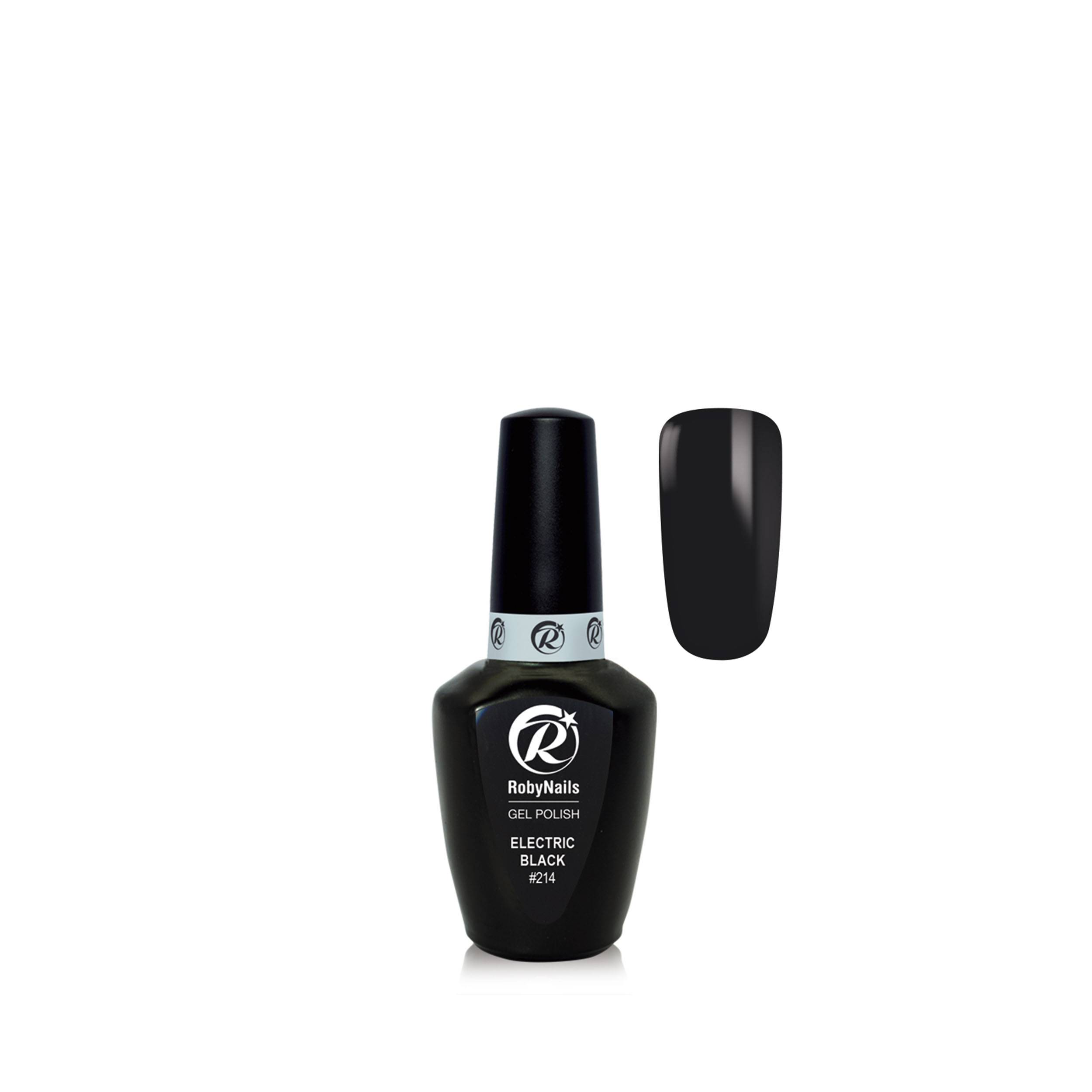 Gel Polish Electric Black 8 Ml 21214