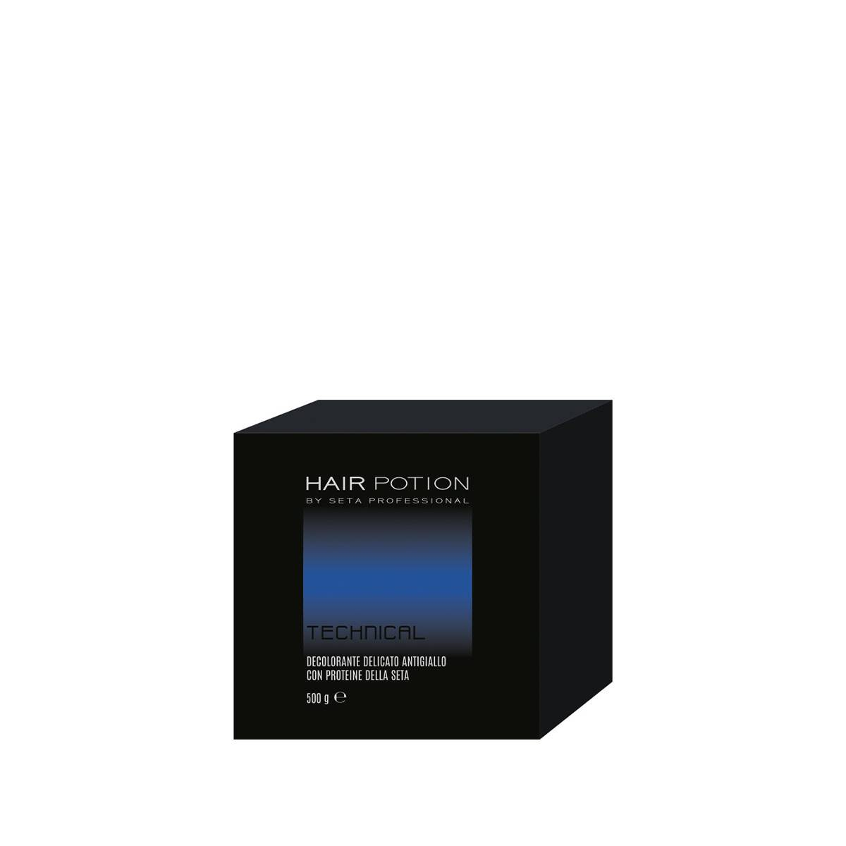 Hair Potion Decolorante 500 Gr  Blu Scatola
