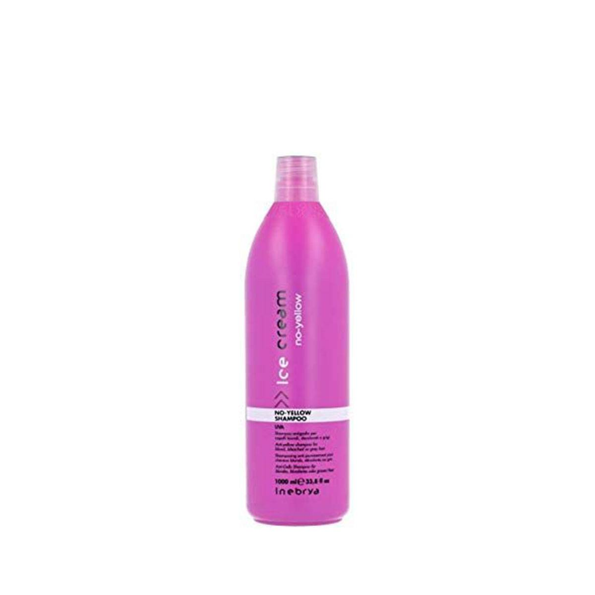No yellow shampoo 1000 ml uva capelli decolorati o grigi ANTIGIALLO