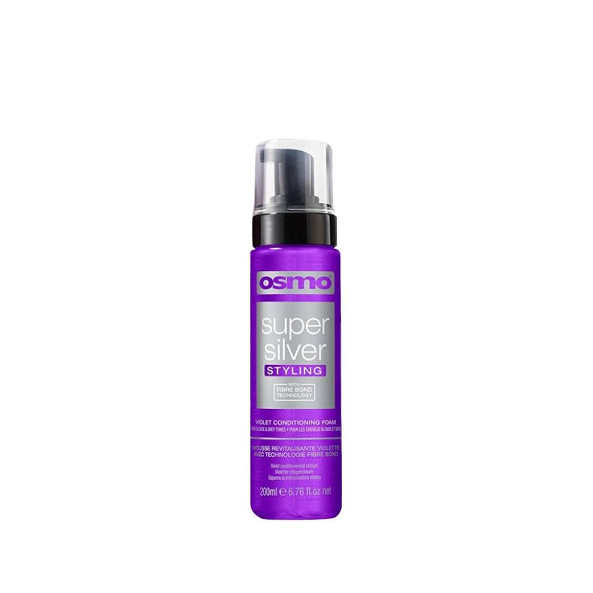 Super Silver Violet Conditioning Foam 200ml